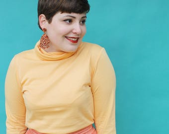 Apricot Skivvy - Handmade by Alice - Only four made!