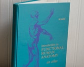 Vintage Anatomy Book, Introduction To Functional Human Anatomy - An Atlas, 1970 70's College Text Book, Pull out Illustrations