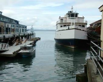 Harbored along Elliot Bay, Seattle, Washington- near Pike Place Market