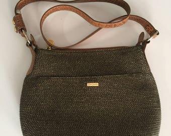 Eric Javits Purse/Vintage Shoulderbag/ Handbag/ /Designer Women's Handbag /Javits Medium Squishee Bag/By Gatormom13