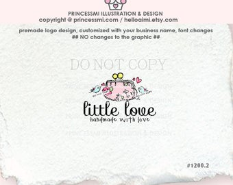 1200-2 Purse logo,  Pouch logo, handmade wallet logo, business watermark, Premade logo design, custom logo design by princessmi logo