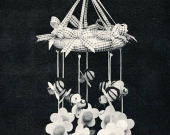Bumblebee & Daisy Mobile 1977