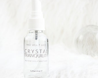 Crystal Tranquility Mist | Aromatic Skin and Sanctuary Mist | 100% natural + vegan - TRAVEL SIZE