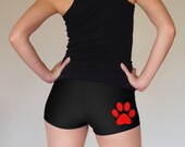 Paw Print Roller Derby Shorts - Pre-Order