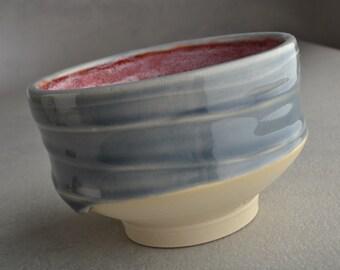 Shaving Bowl Ready To Ship Chawan Smooth Shaving Bowl Ice Cream by Symmetrical Pottery