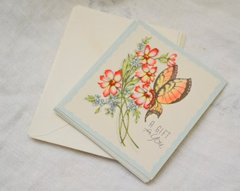 1940s NOS Gift Card with Envelope