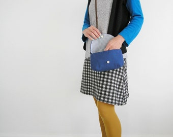 Everyday crossbody, Everyday small purse, Womens bag day, Bags and purses, Blue wee purse, Blue crossbody purse, Coach purse, Olula