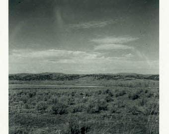 "Vintage Photo ""The Wonder That is New Mexico"" Snapshot Antique Photo Old Black & White Photograph Found Paper Ephemera Vernacular - 134"