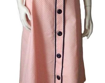 Vintage 1950s Pink Cotton Dress Never Worn