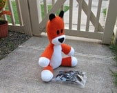 Large Hobbes Tiger Plush  - Sew Your Own Stripes