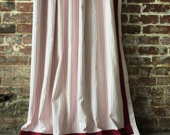 Ticking Stripe Panel