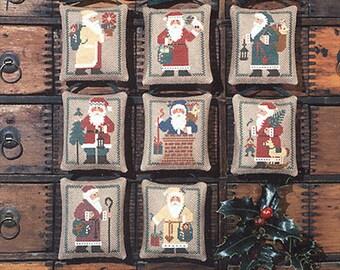 St. Nicholas Book No. 20 cross stitch pattern by Prairie Schooler at thecottageneedle.com