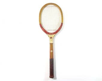 Vintage Tennis Racquet / Spalding Kro-Flite Wood Tennis Racquet / Vintage Sports decor