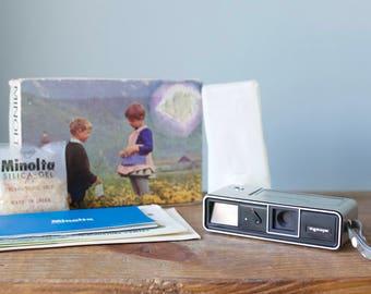 Vintage Minolta 16 Model P with Rokkor Lens | 16mm Subminiature Camera