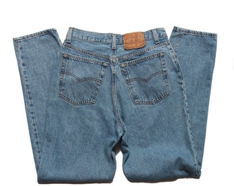 29 waist | 1990's Vintage Levi's 501 High Waist Denim