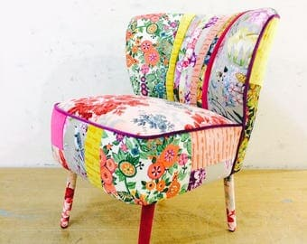 50's Clubchair - flowery