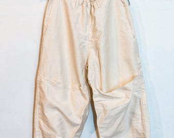 White Cream Painter pants