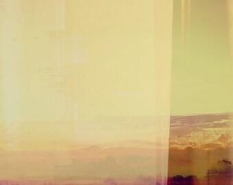 Modern Wall Art, Abstract Desert Landscape, Minimalist Photography, Desert Color, Modern Home Decor, Minimalist Interior, Pink Color Block