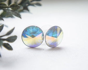 Swarovski Earrings - Crystal Studs - Pick Your Color