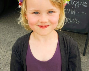 Full head child's flower crown - Spring