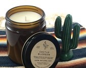 Cactus Blossom, Soy Candles, Mason Jar Candles, Hand Poured Soy Candles, Eco Friendly