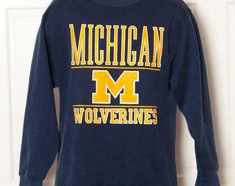 Vintage 80s 90s MICHIGAN WOLVERINES Sweatshirt