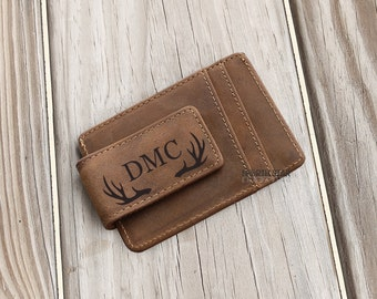 Gifts for Him, Money Clip Wallet, Engraved Wallet, Personalized Money Clip, Mens gift, Mens Personalized, Husband gift, Brother gift, Wallet