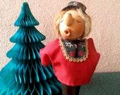 Anri Casy Boys wooden yodeler doll vintage 60s