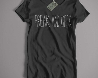 Inspired by Freaks & Geeks T Shirt - Freak and Geek Cult TV T shirt
