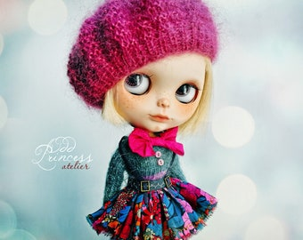 Blythe Set VINTAGE CANDY CIRCUS By Odd Princess Atelier, Hand Knitted Collection