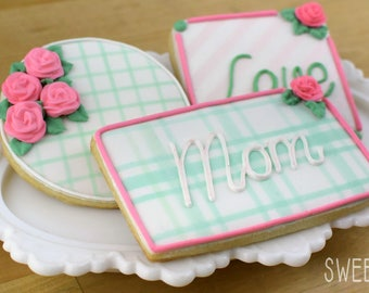 Custom Mother's Day Sugar Cookies (Set of Six)