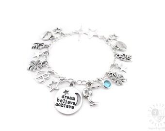 Gymnastics Bracelet, Gymnastics Jewelry, Gymnastics Gifts, Gymnastics Charm Bracelet, Gymnast Bracelet, Gymnast Gifts