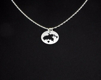 Saint John Necklace - Saint John Jewelry - Saint John Gift