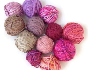 Mini Skein, Hexipuff, Hexipuff Yarn, Little Skein, Mini Skein Grab Bag, Yarn Grab Bag