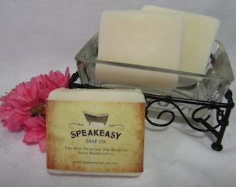 Pure Unscented Speakeasy Soap, vegan, handmade
