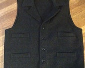 RESERVED For AHMET Awesome Wilson Wool Vest / Authentic Filson / Made in USA / Size L / Wool Vest