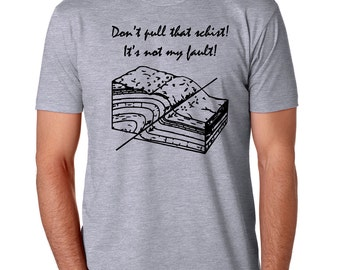 Geology Gift For Him, Rocks Tshirt Pun, Geologist Shirt