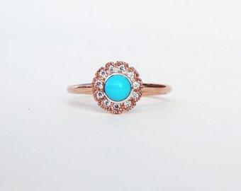 turquoise engagement ring alternative engagement ring engagement ring turquoise diamond ring diamond - Turquoise Wedding Rings