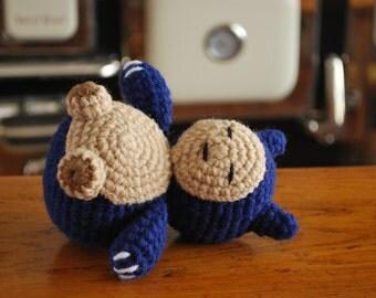 Crochet Chibi Snorlax
