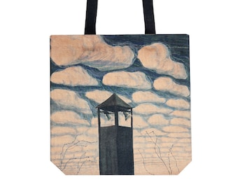 Shopping bag - Ciurlionis art - Tote bag - Shopping tote - Martket bag - Handbag - Shoulder bag - Mikalojus Konstantinas Ciurlionis
