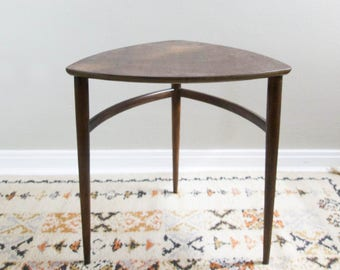 RESERVED for ccbowe // Vintage Side Table Mid Century Modern End Table