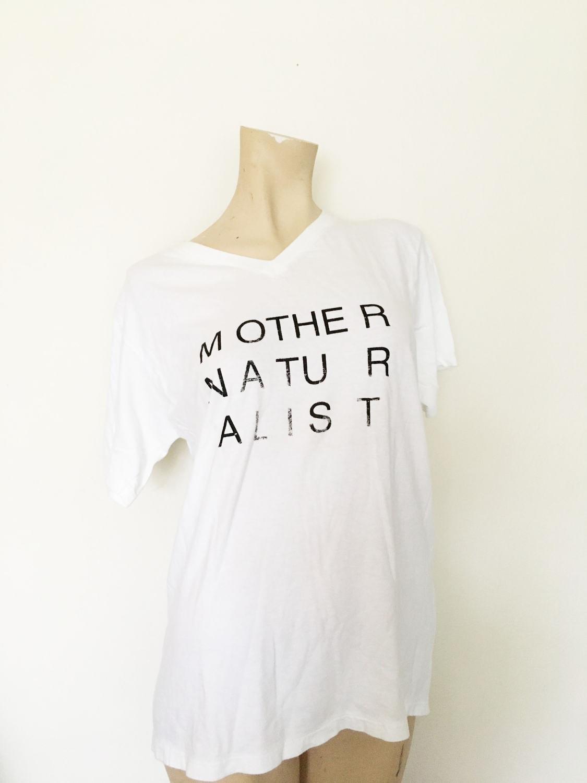 mother naturalist tshirt vintage jockey undershirt that was once my dad's shirt