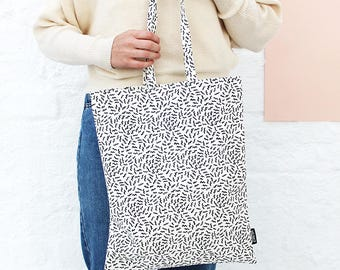 Buzzed Tote Bag - Pattern Zana Products Shopper