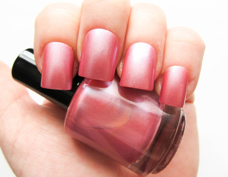 Vintage Pink ~ Nail Polish // Glitter Nail Polish // Antique Pink // Pink // Indie Polish ...