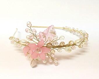 Flower Girl Headband - Flower Girl Hair Accessories - Flower Girl Headpiece - Flower Girl Head Piece - Flower Girl Head Band - Flower Tiara
