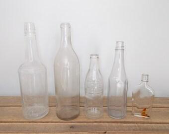 Antique Glass Bottles - Whisky Bottles, Coke Bottle, Ketchup Bottle – Choice Out