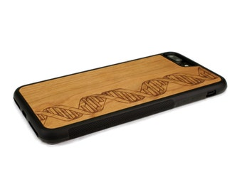 iPhone 7 Plus Case Wood DNA, Wood iPhone 7 Plus Case, iPhone 7 Plus Wood Case