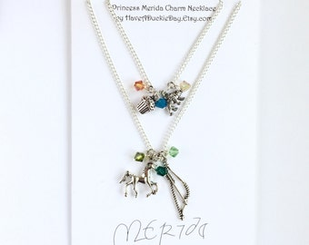 Princess Merida Charm Necklace