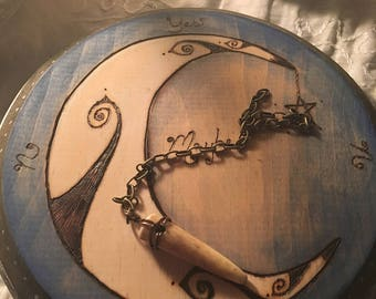 Crescent Moon Pendulum Board
