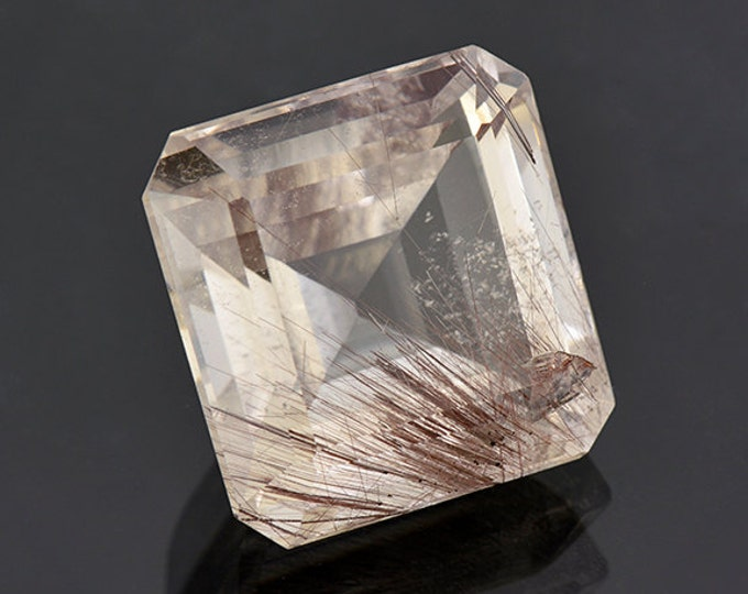 FLASH SALE Large Quartz with Rutile Inclusion Gemstone from Brazil 58.29 cts.